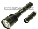 """Độ sáng cực khủng 3000lm trong một """"thân thể"""" khá nhỏ gọn, rẻ hơn nhiều so với các loại đèn pin cùng độ sáng. Thông số kĩ thuật: – Sử dụng 3 Led CREE XML-T6, cho độ sáng cực cao – Độ sáng 2400 – 3000 lumen – Đèn có 3/5 chế độ sáng: Hight / Mid / Low / Strobe/ SOS. – Vỏ hợp kim nhôm siêu bền, ko rỉ sét, thiết kế kín […]<!-- AddThis Sharing Buttons below -->"""