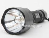Sở hữu body của đàn anh Supfire M1, chóa nhôm dày và độ sáng cao hơn làm tăng khả năng chiếu xa. Thông số kĩ thuật: – Led CREE Q5 – Độ sáng 240 lumen – Chiếu xa 500m – Kích thướt: 146mm x 33mm x 27mm – Trọng lượng: 125g – 5 chế độ sáng: Hight / Mid / Low / Strobe/ SOS. – Vỏ hợp kim nhôm siêu bền, ko rỉ sét, thiết […]<!-- AddThis Sharing Buttons below -->