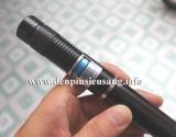Đèn Blue Laser công xuất 3W, ánh sáng cực mạnh, đốt giấy, vải, gỗ… chiếu cực xa, hàng sản xuất nguyên kiện. Thông số kỹ thuật: – Diode laser 3W – Màu ánh sáng: blue – Kích thướt: 200mm x 20mm x 20mm – Trọng lượng: 90g – Sử dụng 2pin lithium 16340 3.6v – Có 5 đầu chiếu sao đi kèm – Bao gồm: hộp, thân đèn, 2pin sạc, bộ sạc, 5 đầu chiếu […]<!-- AddThis Sharing Buttons below -->
