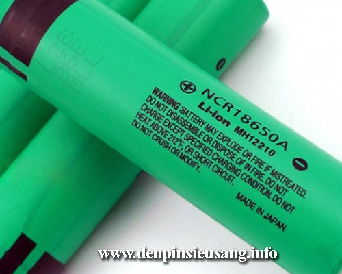 Pin 18650 Panasonic 3100mAh