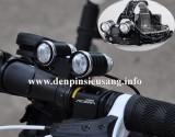 Đèn pin đeo trán 2 led được thiết kế dùng cho đội đầu và cả xe đạp rất tiện và chuyên nghiệp, mẫu mã siêu đẹp. Thông số kĩ thuật: – Sử dụng 2 Led CREE R2, cho độ sáng rất tót – Độ sáng 500 lumen – Chiếu xa 200m – Đèn có 5 chế độ sáng: Trái / phải / cả 2 / nhấp nháy / trái phải thay đổi rất độc đáo. […]<!-- AddThis Sharing Buttons below -->