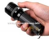 Đèn pin siêu sáng D76 mẫu mã mới lạ, thiết kế nhỏ gọn với công tắc trên thân đèn và hộc pin 26650 tiện lợi Thông số kĩ thuật: – Thương hiệu: Trustfire, Goread – Mã sản phẩm: D76 – Led: CREE XM-L2 T6 – Độ sáng: 1200 lumen – Chiếu xa: 150m – Kích thướt: 127mm x 45mm x 35mm – Trọng lượng: 155g – 3 chế độ sáng: Hight / Mid / Strobe […]<!-- AddThis Sharing Buttons below -->