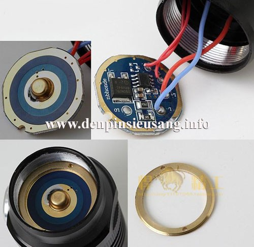 Đèn pin Trustfire D76 XM-L2 1200lm