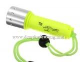 Đèn pin lặn Yupard T6 độ sáng cao 800lm, thiết kế nhỏ gọn nhẹ, rất tiện cho các thợ lặn và du lịch thám hiểm Thông số kĩ thuật: – Led CREE XM-L T6 – Độ sáng 800lumen – Màu ánh sáng: trắng / vàng – Kích thướt: 120mm x 37mm x 27mm – Trọng lượng: 117g – Lặn sâu trên 100m – Vỏ nhựa dày, chống nước, ko rỉ sét. – Nhỏ gọn cầm […]<!-- AddThis Sharing Buttons below -->