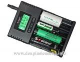 Sạc thông minh Soshine H4 có thể sạc và hiệu chỉnh dòng sạc độc lập từng kênh, tự động nhận biết các dòng pin Li-ion, Ni-MH, LiFePO4… dòng sạc lên đến 1000mah giúp giảm đáng kể thời gian sạc các loại pin dung lượng cao, màn hình LCD hiển thị đầy đủ thông số, tiện theo dõi. Thông số kỹ thuật: – Input DC IN: 12V 2000mA / 12V 24W (Photovoltaic solar panel) – Output […]<!-- AddThis Sharing Buttons below -->