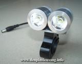 Đèn xe đạp siêu sáng SLC-0315 là mẫu đèn cao cấp dành riêng cho xe đạp với độ sáng cao 2000lm,chống nước tốt, pad kim loại chuyên nghiệp Thông số kĩ thuật: – Sử dụng 2LED CREE XML-T6, cho độ sáng cực cao – Độ sáng 2000 lumen – Chiếu xa 150m – Kích thước: 60mm x 60mm x 40mm – Trọng lượng: 160g – Đèn có 3 chế độ sáng: Hight / Mid / […]<!-- AddThis Sharing Buttons below -->