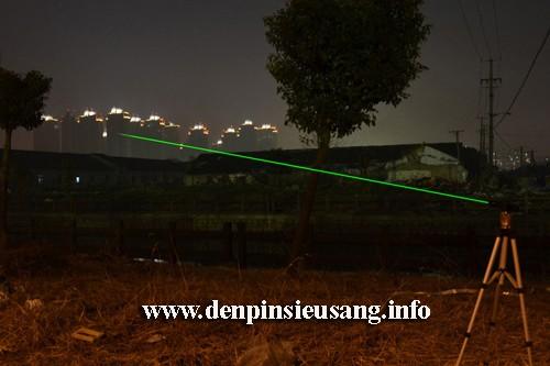 den-laser-xanh-la