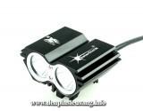 Đèn xe đạp siêu sáng Solarstorm X2 là mẫu đèn cao cấp, độ sáng cao 1500lm,chống nước tốt, pad kim loại chuyên nghiệp Thông số kĩ thuật: – Sử dụng 2LED CREE XM-L2 T6, cho độ sáng cực cao – Độ sáng 1500 lumen – Chiếu xa 150m – Kích thước: 58mm x 45mm x 38mm – Trọng lượng: 125g – Đèn có 4 chế độ sáng: Hight / Mid / Low / Strobe – […]<!-- AddThis Sharing Buttons below -->