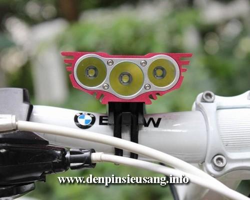 Đèn xe đạp siêu sáng Solarstorm X3 sử dụng 3 led Cree XML T6 là mẫu đèn cao cấp cho độ sáng cao 2500lm,chống nước tốt, pad kim loại chuyên nghiệp Thông số kĩ thuật: – Sử dụng 3LED CREE XML-T6, cho độ sáng cực cao – Độ sáng 2500 lumen – Chiếu xa 150m – Kích thước: 42mm x 60mm x 38mm – Trọng lượng: 155g (Chưa bao gồm pin) – Đèn có 4 […]<!-- AddThis Sharing Buttons below -->