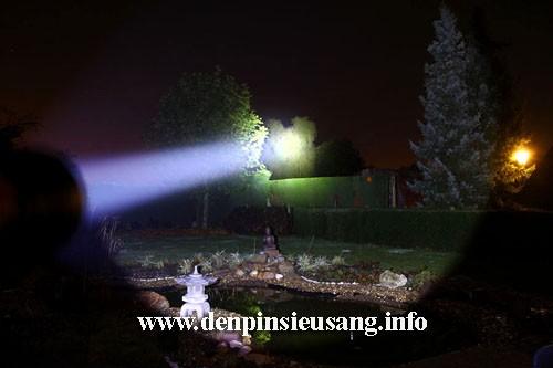 Đèn pin chiếu xa I5