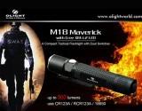 Đèn pin siêu sángOlight M18 Maverick phiên bản tác chiến dòng M của Olight, nhỏ gọn, đa năng, mạnh mẽ, dễ dùng rất phù hợp với công việc của thám tử, mật vụ và cả các binh sỹ tác chiến Đèn pin Olight M18 Maverick thiết kế 2 công tắc 1 là nguồn + truy cập nhanh mức sáng MAX, Strobe, 2 là công tắc hông dùng chuyển mode sáng kèm chức năng báo pin […]<!-- AddThis Sharing Buttons below -->