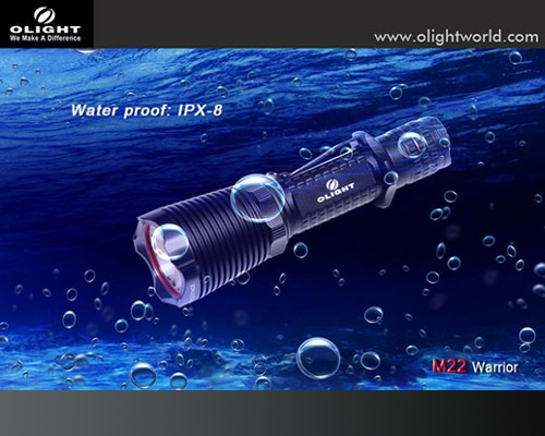 Đèn pin Olight M22 Warrior