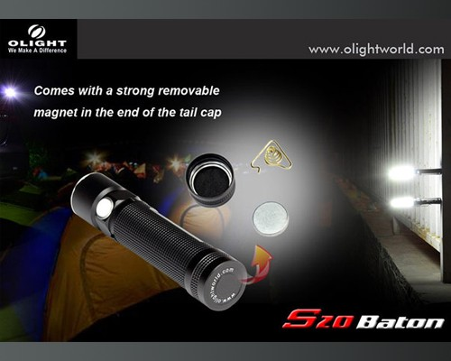 Đèn pin Olight S20 Baton