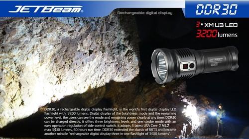 Đèn Pin Siêu Sáng JetBeam DDR30