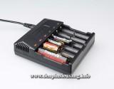 Sạc Trustfire TR-012, là sạc đa năng cho phép sạc 6 pin cùng lúc các loại như: 14500, 17500, 16340, 18500, 17670, 18650, 14650, 10440 (3.7v), Ni-MH: AA, AAA (1.2v)… vô cùng tiện lợi. Thông số kỹ thuật: – Thương hiệu: Trustfire – Mã hàng: TR-012 – Input : 100-240V 50-60Hz – Output: 4.2V = 1A – Kích thước: 139mm x 125mm x 36.8mm – Trọng lượng: 246g – Đèn led báo hiệu pin đầy […]<!-- AddThis Sharing Buttons below -->