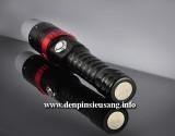 Đèn pin siêu sáng Z-34 là mẫu đèn tiện lợi, có chóa tản sáng dùng khi cúp điện, chuôi đèn với nam châm siêu hít. Thông số kĩ thuật: – Led Cree XML T6, cho độ sáng ổn định – Độ sáng 800 lumen – Chiếu xa: 150m – Kích thướt: 40mm x 165mm x 30mm – Trọng lượng:230g – 5 chế độ sáng: Hight / Mid /Low/ Strobe/SOS – Vỏ hợp kim nhôm siêu […]<!-- AddThis Sharing Buttons below -->