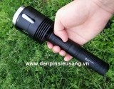 Đèn pin siêu sáng BTU STR01 với thiết kế độc đáo, lạ mắt, đầu đèn rỗng giúp tản nhiệt tốt hơn, nâng khả năng chiếu sáng liên tục trong 2,5 giờ mà không nóng, thân đèn bằng hợp kim nhôm siêu dày, sử dụng led Cree XHP50 cho độ sáng ấn tượng lên đến 2500Lm. Thông số kĩ thuật: – Mã sản phẩm: BTU-STR01 – Led Cree XHP50 – Độ sáng: 2500 lumen – Chiếu […]<!-- AddThis Sharing Buttons below -->