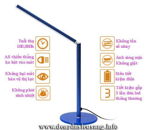Đèn bàn led FX-001