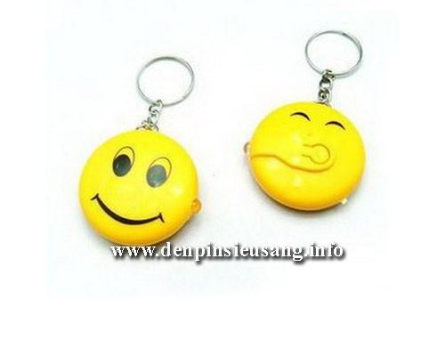 Đèn pin móc khóa mặt cười