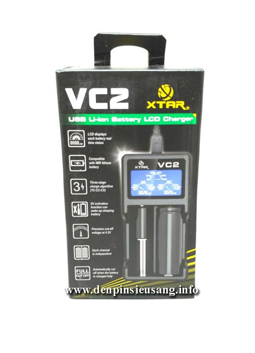 Sạc đa năng XTAR VC2