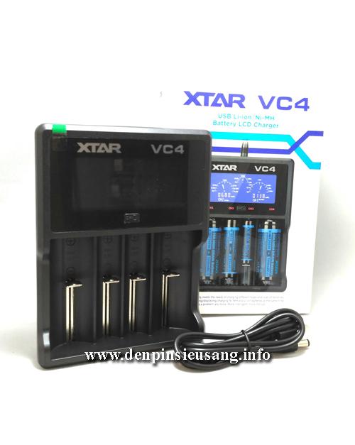 Sạc đa năng XTAR VC4