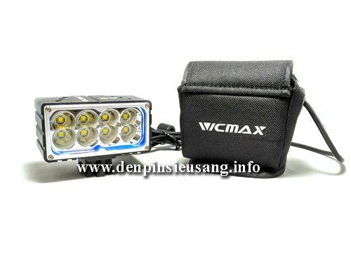 Thông số kỹ thuật: – Sử dụng 8 LED CREE XML-2, cho độ sáng cực cao – Độ sáng 4000 lumen – Chiếu xa 150m – Kích thước: 80mm x 42mm x 43mm – Trọng lượng: 200g (Chưa bao gồm pin) – Đèn có 3 chế độ sáng: Hight / Low / Strobe – Vỏ hợp kim nhôm siêu bền, ko rỉ sét, thiết kế kín với các roan cao su, chống nước tốt – […]<!-- AddThis Sharing Buttons below -->