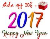 Giảm giá 30% mừng năm mới 2017