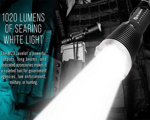 Dèn pin Olight M23 Javelot – một siêu phẩm mà Olight đã dành nhiều công sức đầu tư, Olight M23 Javelot chính thức xuất hiện với độ sáng lên đến 1020 Lumens, sử dụng led Cree XP-L HI cho tầm chiếu xa đạt 436m xấp xỉ với những cây đèn cỡ lớn, đèn pin Olight M23 Javelot kế thừa và phát huy các ưu điểm vốn có của M22 huyền thoại Đèn pin Olight M23 […]<!-- AddThis Sharing Buttons below -->