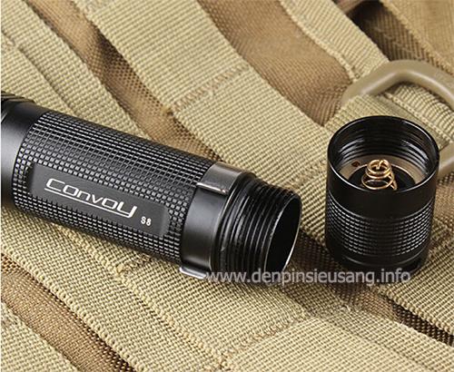 Đèn pin ConVoy S8