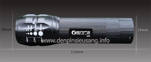 Đèn pin S320 XML-T6