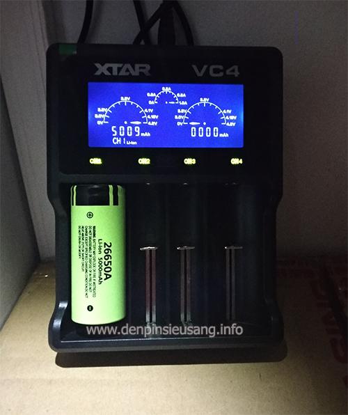 Pin 26650 Panasonic 5000mAh