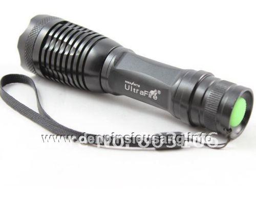 Đèn pin siêu sáng Ultrafire E5 800lm zoom