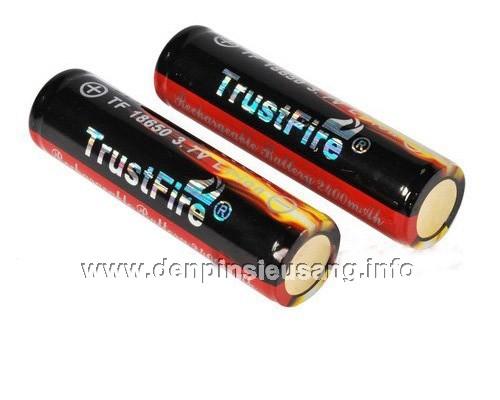 Pin Trustfire 18650 2400mAh