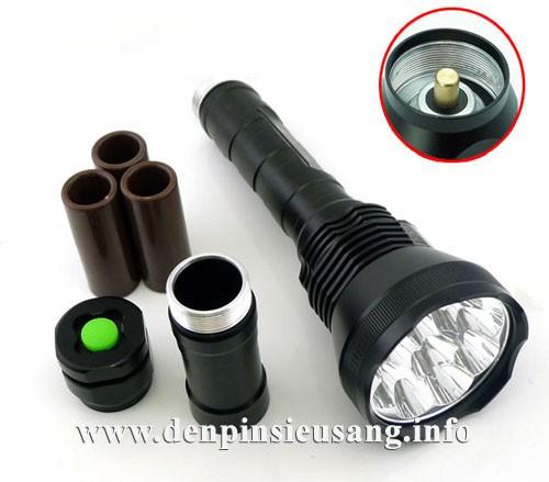 Đèn pin siêu sáng Ultrafire 9t6 9500lm