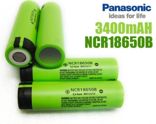 Pin Panasonic 3400mAh 18650