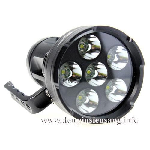 Đèn pin siêu sáng Nage 6U2 5000lm