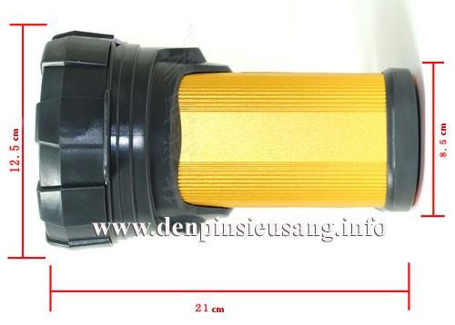 Đèn sạc XM-L T6 1200lm chiếu xa 650m