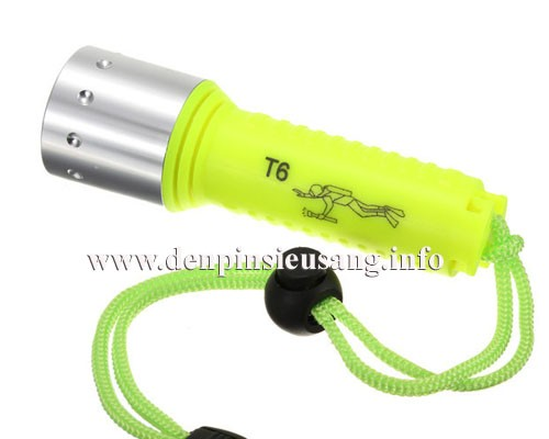 Đèn pin lặn Yupard T6 800lm