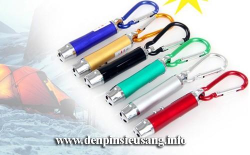 Đèn pin móc khóa 4in1