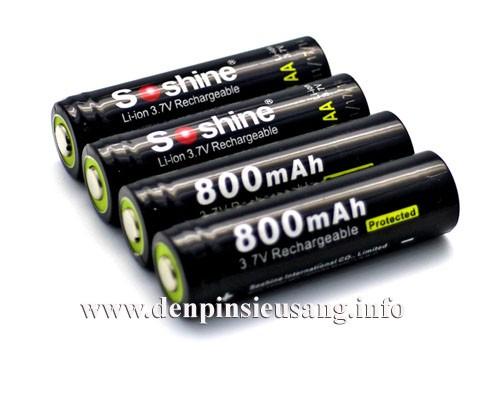 Pin 14500 Soshine 800mAh 3.7V
