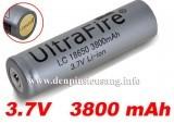 """<div class=""""at-above-post-cat-page addthis_tool"""" data-url=""""https://denpinsieusang.info/pin-18650-ultrafire-3800mah-3-7v-protected/""""></div>Pin ultrafire 3800mAh 3.7v protected là chuẩn pin 18650, có mạch bảo vệ. Thông số kỹ thuật: Chuẩn pin 18650 Thương hiệu: Ultrafire Điện thế: 3.7v Dung lượng: 3800mAh Màu sắc: xám Có mạch bảo vệ chống sạc và xả pin quá mức Chống cháy nổ, chảy nước hay phù. Giá 100.000 vnđ<!-- AddThis Advanced Settings above via filter on get_the_excerpt --><!-- AddThis Advanced Settings below via filter on get_the_excerpt --><!-- AddThis Advanced Settings generic via filter on get_the_excerpt --><!-- AddThis Share Buttons above via filter on get_the_excerpt --><!-- AddThis Share Buttons below via filter on get_the_excerpt --><div class=""""at-below-post-cat-page addthis_tool"""" data-url=""""https://denpinsieusang.info/pin-18650-ultrafire-3800mah-3-7v-protected/""""></div><!-- AddThis Share Buttons generic via filter on get_the_excerpt -->"""