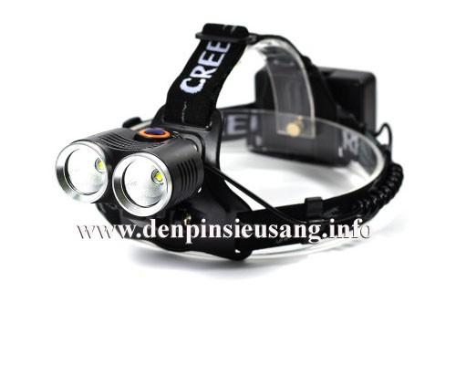 Đèn xe đạp - đèn đeo trán D30 Q5