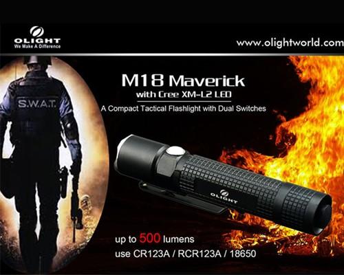 Đèn pin Olight M18 Maverick