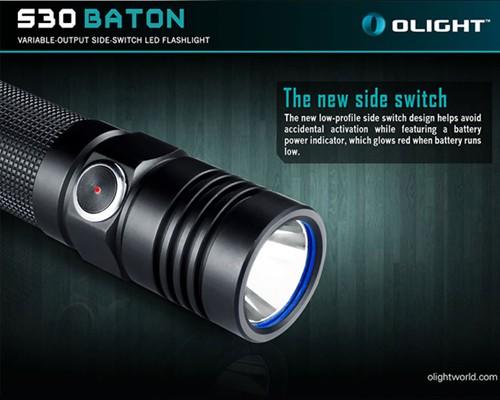 Đèn pin Olight S30 Baton