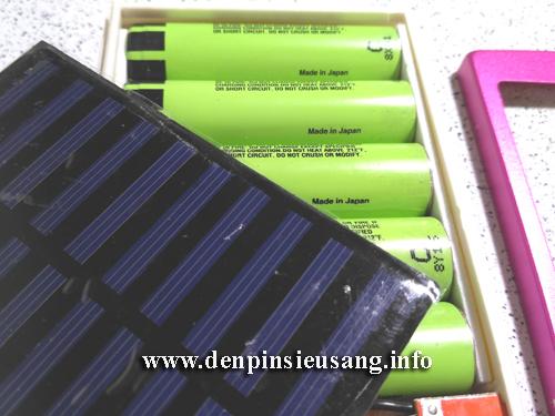 Sạc dự phòng năng lượng mặt trời ISUN