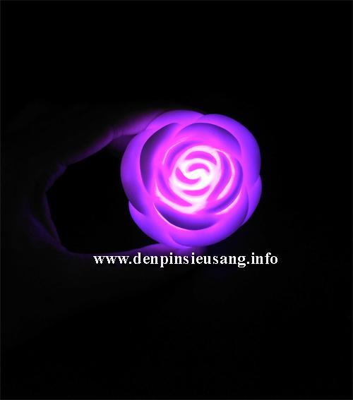 Đèn trang trí hoa hồng