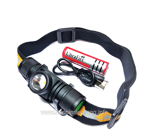 Đèn đeo trán XM-L2 1000lumens