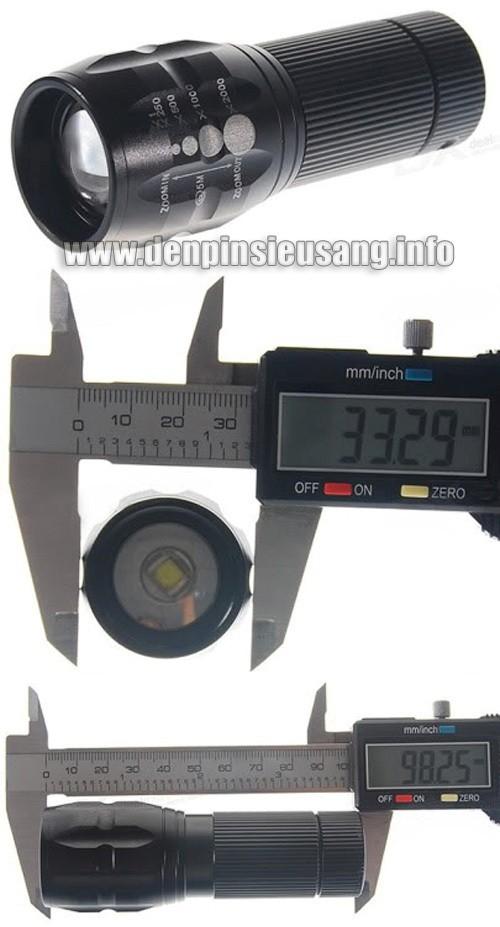 Đèn pin siêu sáng Police C30(x2000)